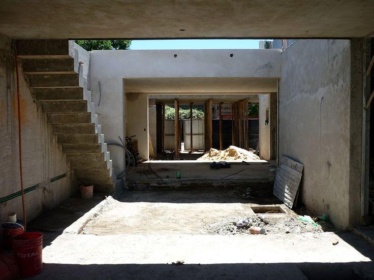 Secuencia de patios / by proyectarq #arquitectura / Rosario / Argentina