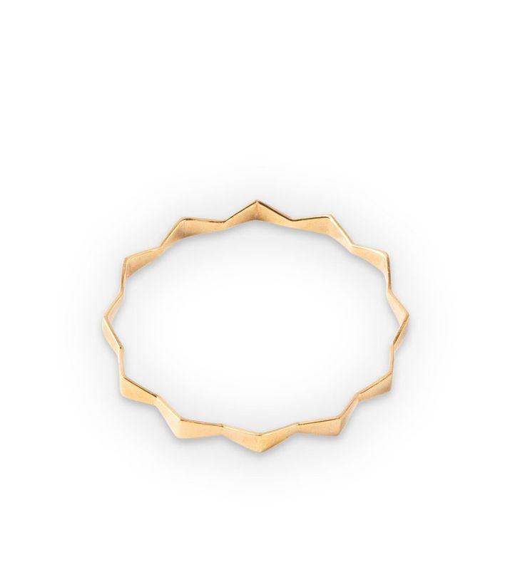 Endless Bangle - Gold
