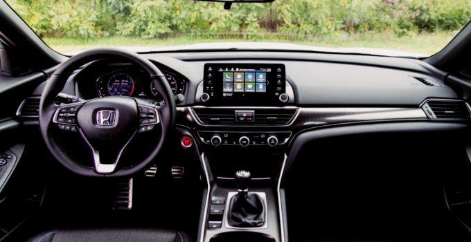2019 Honda Accord Sedan Sport 2 0 Interior With Images Honda