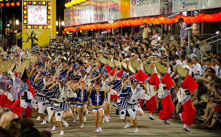 Awa Odori 2017 lễ hội nhảy múa ở Nhật Bản thu hút hàng triệu người