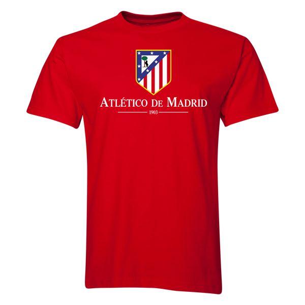 Atletico Madrid Crest T-Shirt