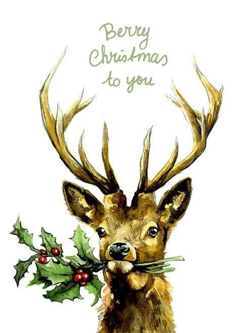 berry christmas ★ Simone van Well uit de zelfgemaakte kerstkaartenwinkel