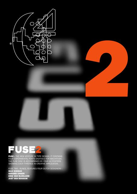 Fuse issue 2. Cover design was by Neville Brody. It allowed him to display his typography to a wider audience through publication.