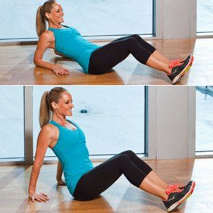 Problem: Arm flab  Solution: Reclining triceps press