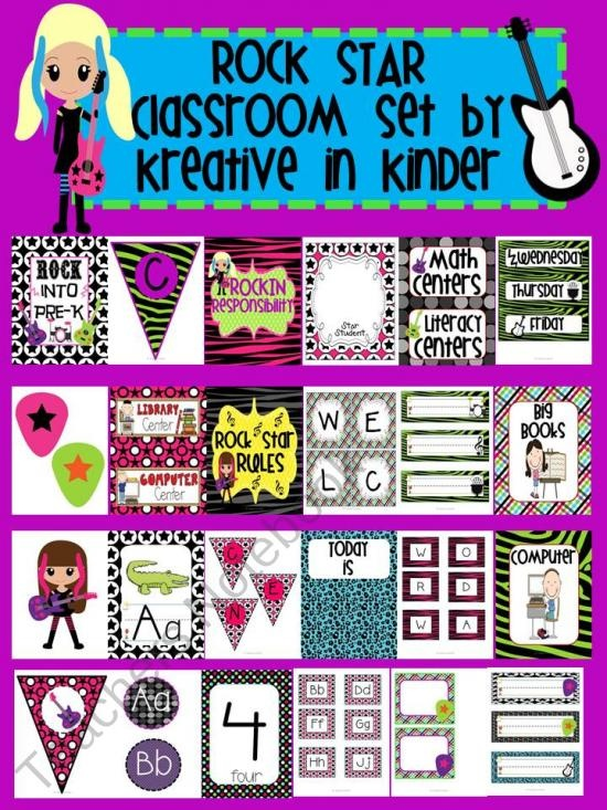 Rockstar Classroom Decor ~ Best images about rock star classroom theme on