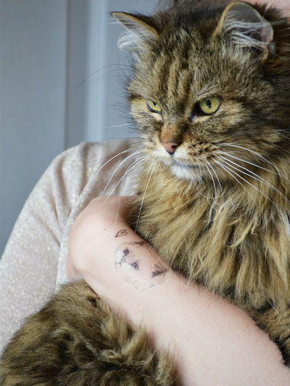 temporary tattoos cat tatts  by harrietgray