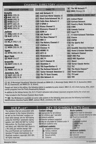 https://flic.kr/p/4dMaFv | Memphis Edition (February 9, 2002) | From my TV Guide collection.