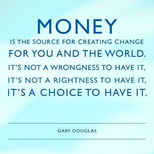 What are you choosing? #abundance #wealth #money #garydouglas #accessconsciousness