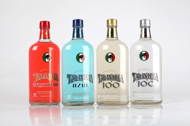 Tarantula Tequila. I've only tried the blue one but it's soooo good!