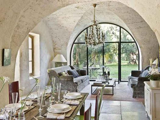 18th century restored villa in the french countryside