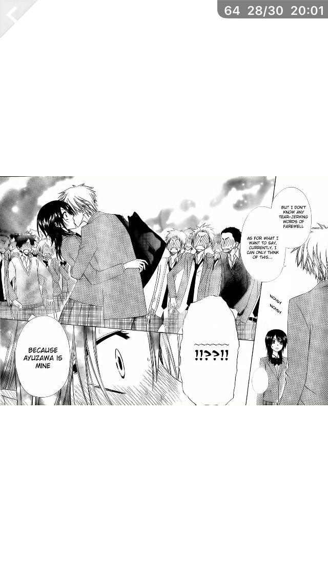 Kaichou wa maid-sama. Takumi and Misaki!!!!!!