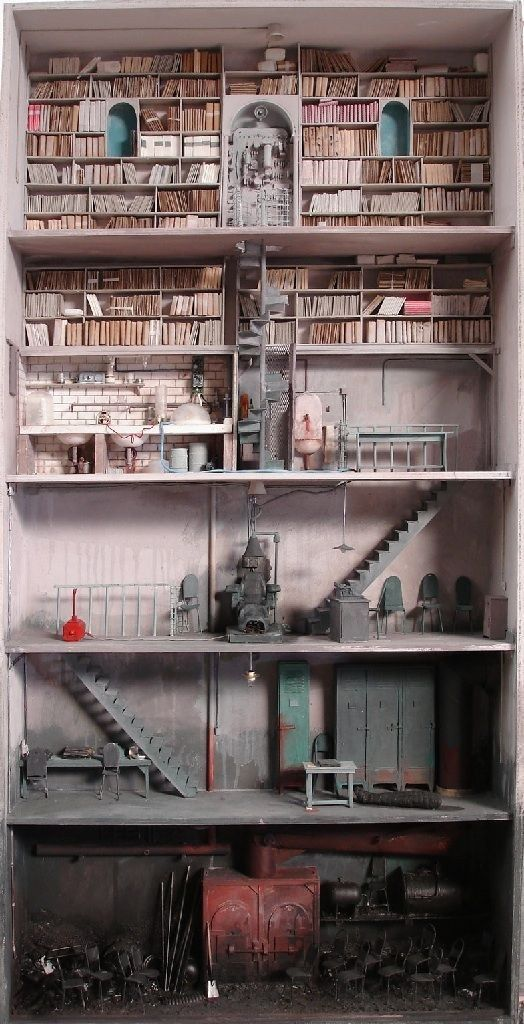 The dark designs of Marc Giai-Miniet… | 41 Dollhouses That Will Make Wish You Were A Tiny Doll