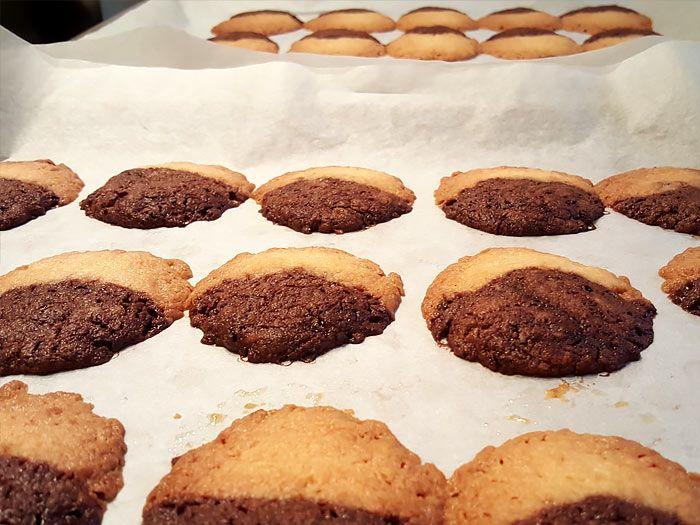 Heerlijke vanille chocolade koekjes