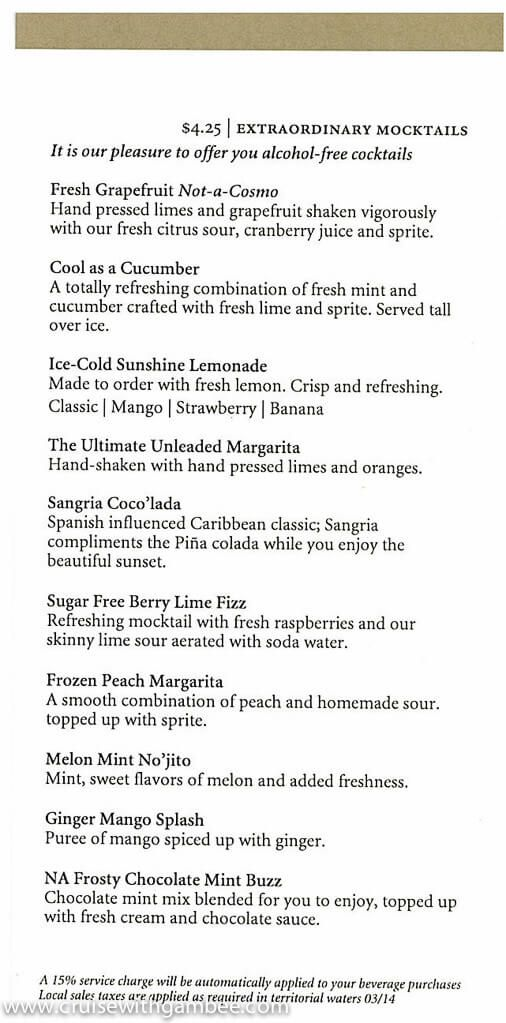 7 best noordam cruise images on pinterest beverage cocktails and signature cocktail menu 2014 6 fandeluxe Images