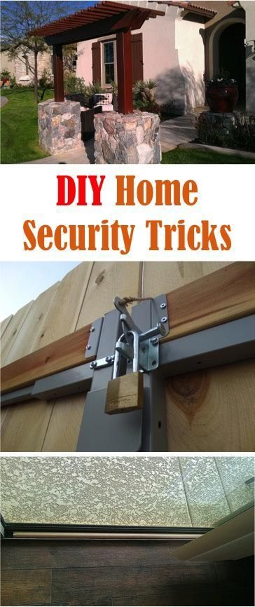 5 DIY Home Security Tricks to make your home a little safer!