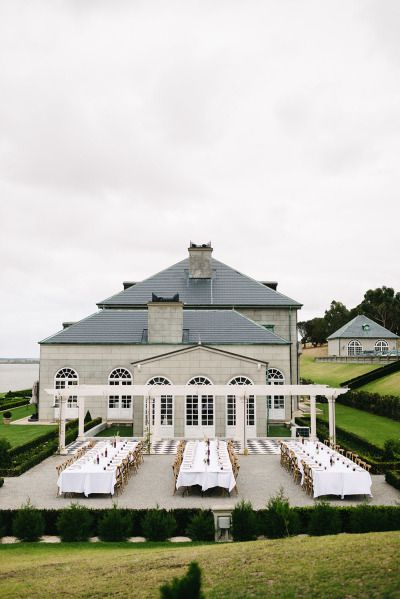 Romantic Waterfront Australia Wedding At Campbell Point House