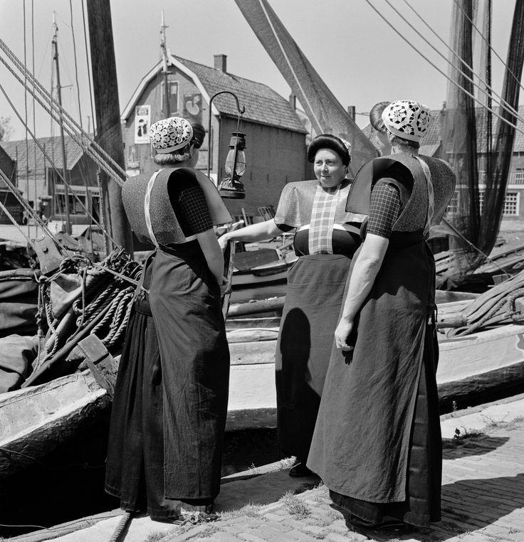 Dutch women in Bunschoten and Spakenburg in the Netherlands.