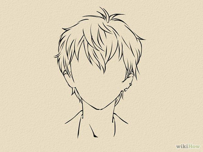 Draw A Manga Face Male Manga Face And Manga Poses