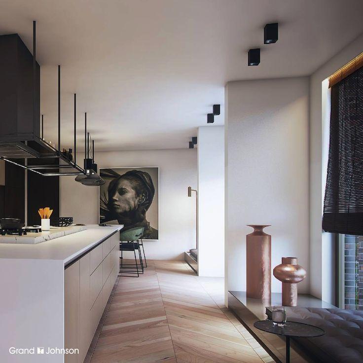 Light modern kitchen wooden blinds 308 best