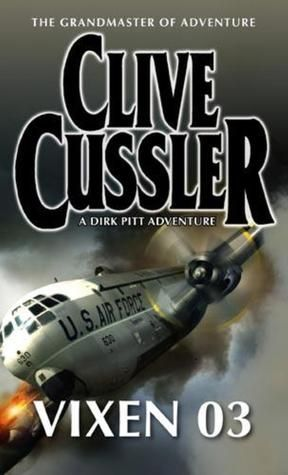 "On Matthias S's Cybook: A Clive Cussler thriller, the german Title is ""Der Todesflug der Cargo 03"".... ""Vixen 03"" is the original Title. It's from 1979 and it is Part 4 of the Dirk Pitt Books. The right Adventure Stuff for the Weekend :) #FridayReads"