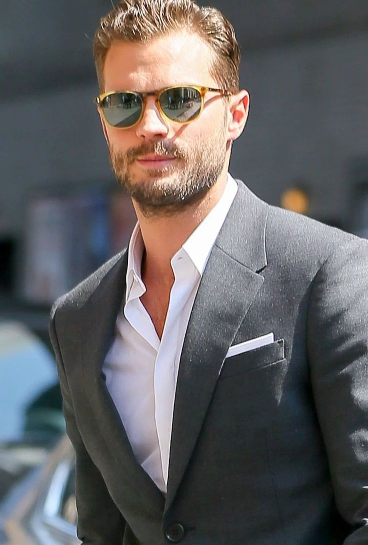 """""""I can remember making videos with a camcorder or voice recordings and you always cringe a bit when you see or hear yourself"""" #JamieDornan"""