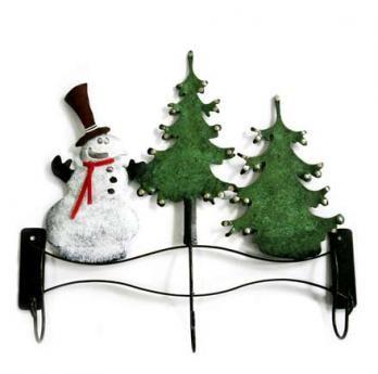 Perchero Snow Navidad 42 cm H x 38 cm W $60.000