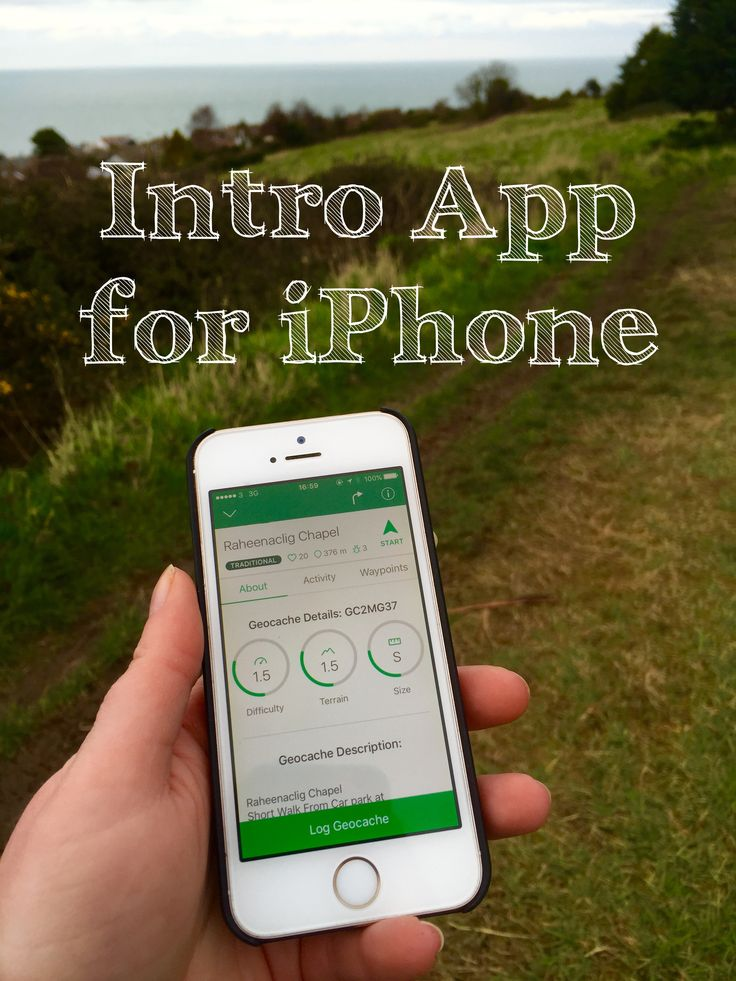The Geocaching Intro App is free to download on the App Store. The app has lots of handy features to get started geocaching.