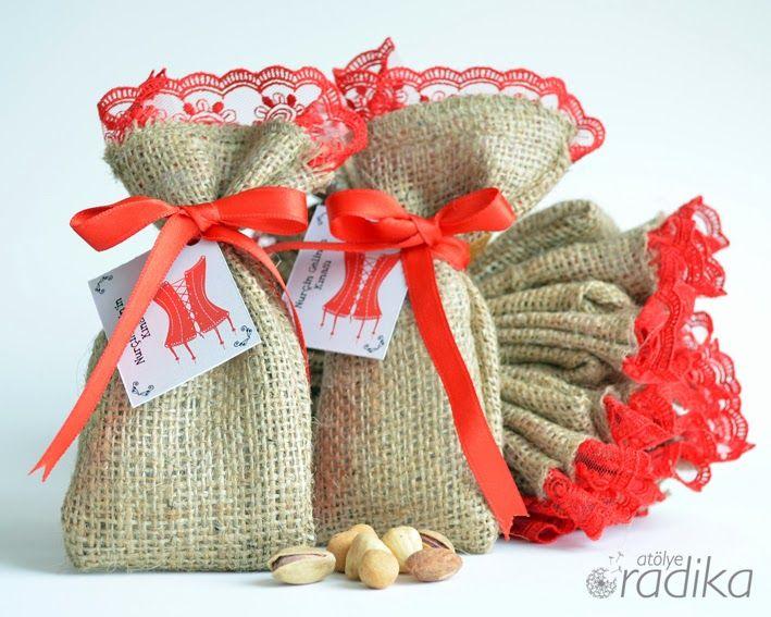 Atölye Radika - Kına gecesi bekarlığa veda hediyeleri / Bridal shower gifts