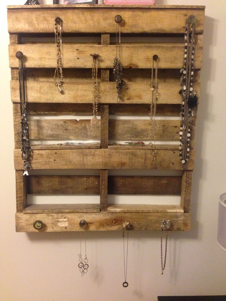 205 best images about pallets on pinterest jewelry for Hobby lobby jewelry holder