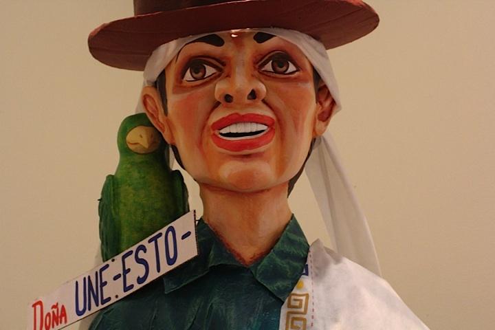 Doña Une - Esto. Crédito Milton Ramírez (@FOTOMILTON) Mincultura 2012.