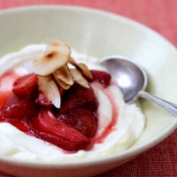 HOMEMADE YOGURT + ROASTED STRAWBERRIES | Homegrown KitchenHomegrown Kitchen