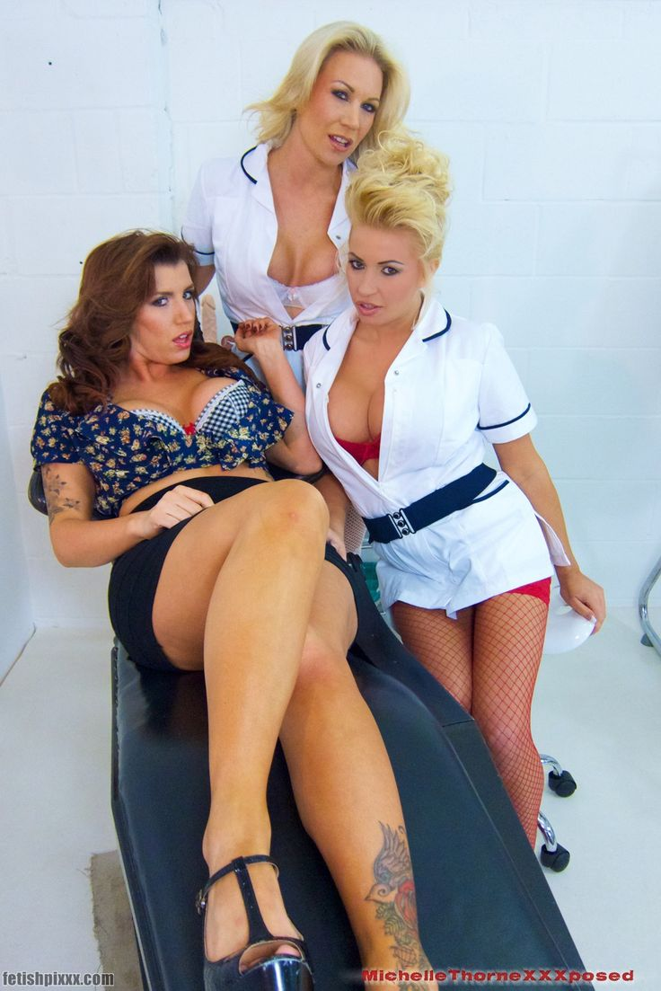 Naughty nurses with Michelle Thorne