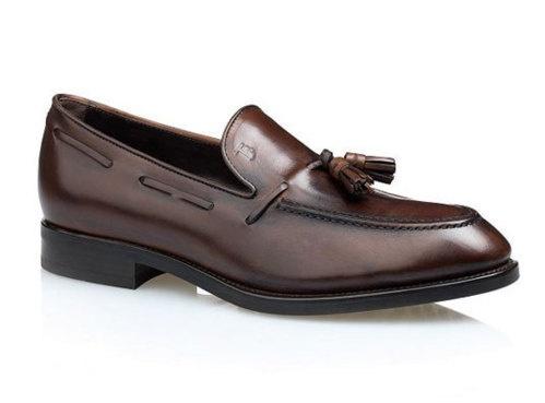 chaussure de luxe : nouveauté   Tod's mocassin à pampilles