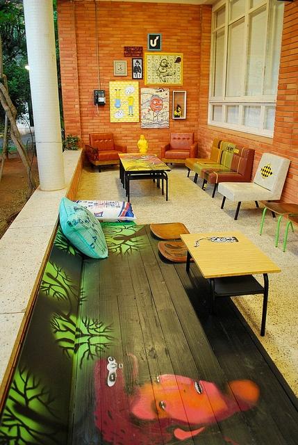 ambiente de convivência p/ escola de design unisinos by mundo arte global