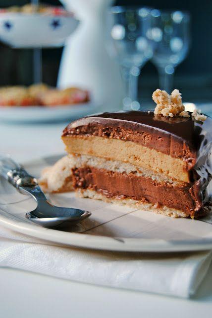 Sugar Buzz: Τούρτα σοκολάτα πραλίνα
