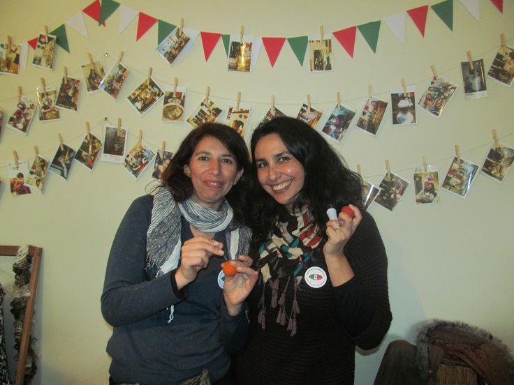 Invitadas al aniversario de Pizzeria La Torre en Villa Alemana :)