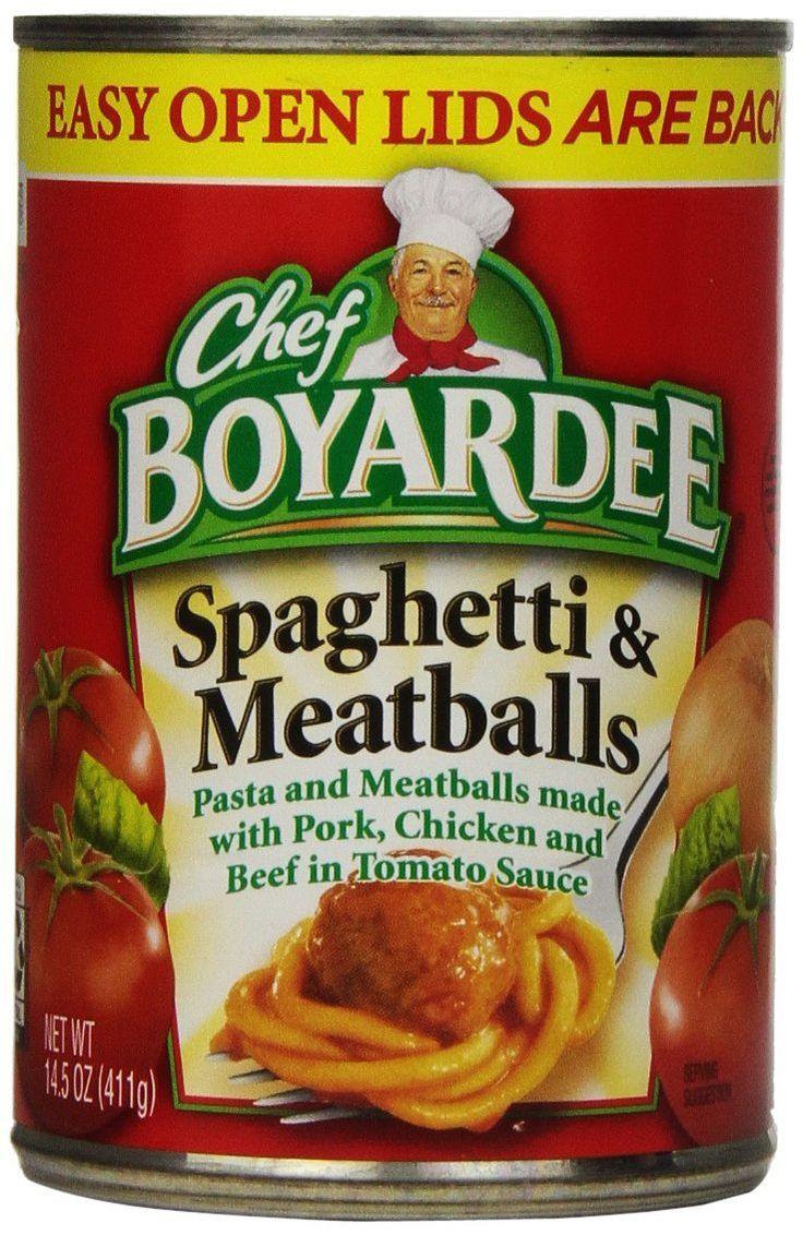 Chef Boyardee Spaghetti