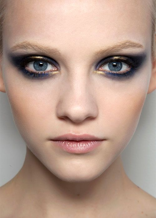 Smoky eye at Jason Wu/ Paupières colorés au défilé de Jason Wu
