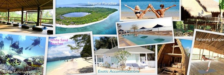 Gili Islands: Tropical Island Paradise Escape  A short escape to one of the neighbor paradisiacal islands of Bali will enhance your tropical experience.  turtle sanctuary gili meno air trawangan yoga retreat meditation essential retreat organizer tropical paradise snorkeling diving bali lombok island exotic