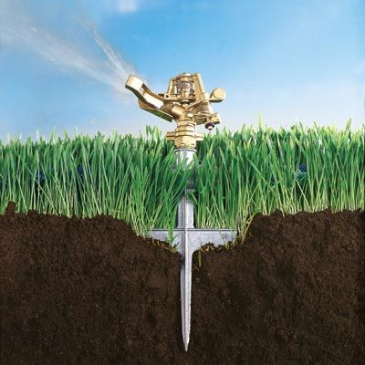 How to pick the best sprinkler for your landscape, plus tips for proper watering. | Photo: Eric Piasecki | thisoldhouse.com
