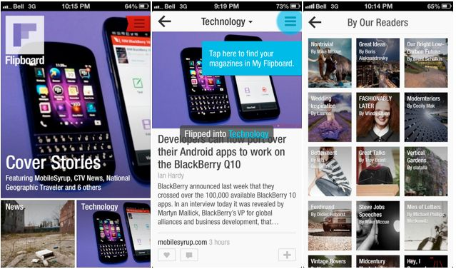 Update: Flipboard for BlackBerry 10 now available to download  Telus Fort Saskatchewan Cornerstone Mall http://www.mobilityhelp.com 780-998-9551