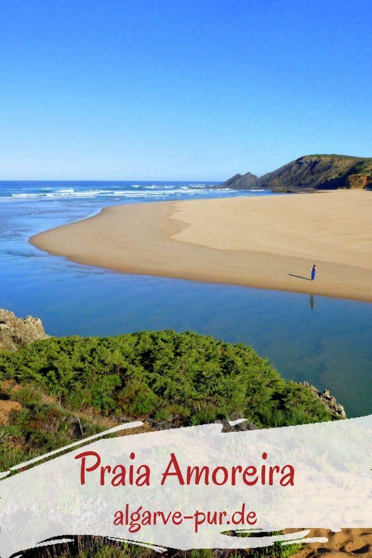Praia Da Amoreira Mein Lieblingsstrand An Der Westkuste Algarve Pur Algarve Urlaub Urlaub Portugal Algarve Strande