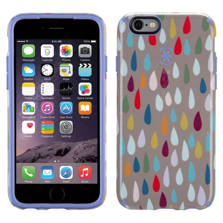 iPhone 6/6S Case - Speck CandyShell - Rainbow Drop (Spk-A4036)