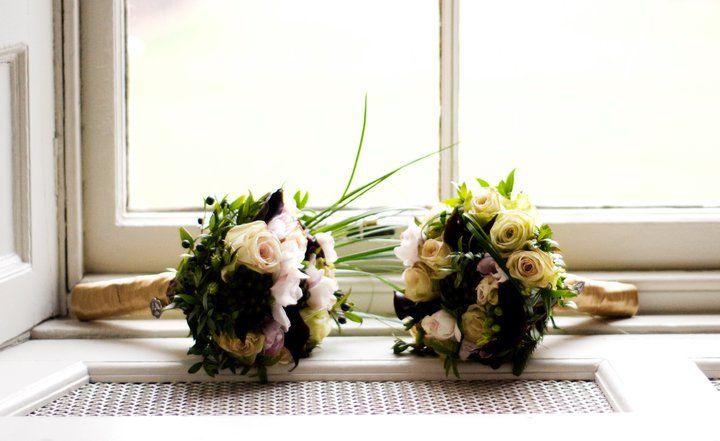 Spiral Flowers at www.edinburghbridesweddingguide.com