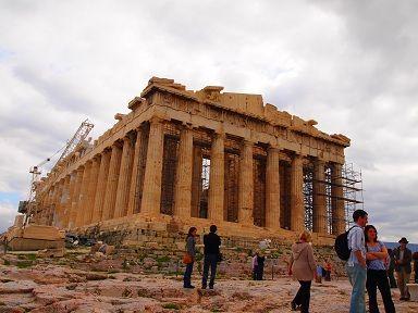 パルテノン神殿・ギリシャ