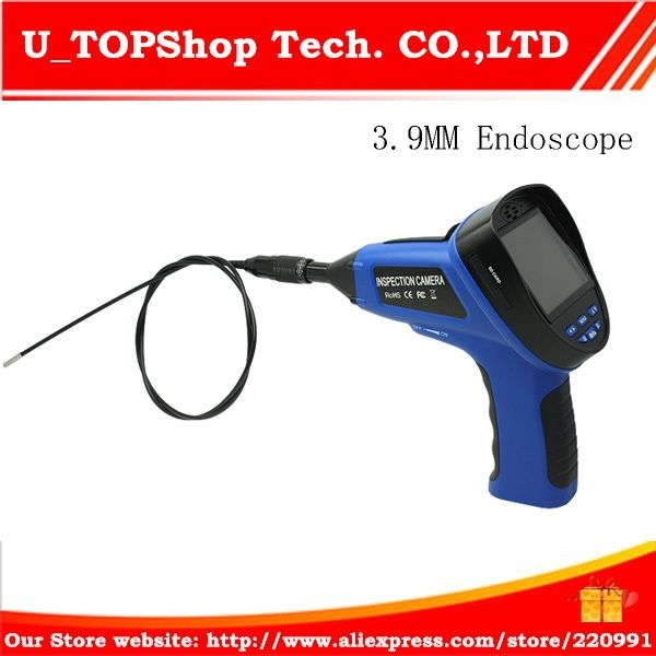 293.90$  Watch here - http://alimkv.worldwells.pw/go.php?t=32213768274 - 3.9mm Inspection Camera, Endoscope Camera,Inspection Camera with 3.5 Inch full color LCD Screen,1M Security Cameras 293.90$