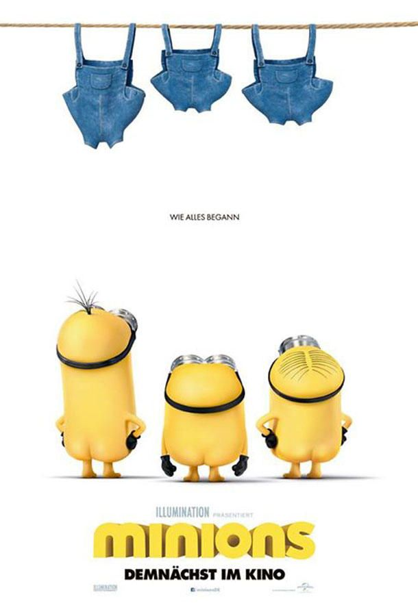 """Minions""-Film : Neuer Trailer & News zum ""Minions""-Movie"