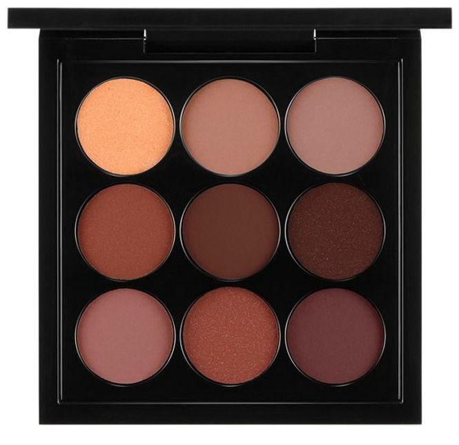 MAC Eye Shadow X9 in Burgundy Times...one of my favorite neutral palettes!