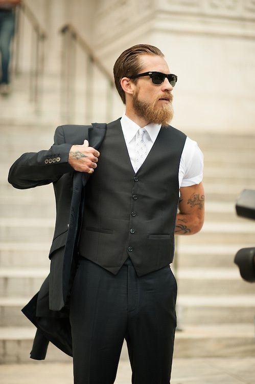 Admirable 1000 Images About Suits Amp Beards On Pinterest Short Hairstyles Gunalazisus