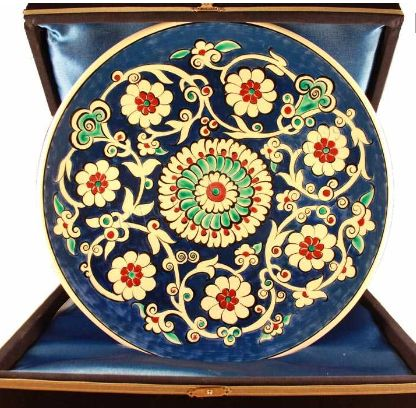 Iznik tiles, wall plates